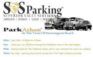 Orange County Register Tast of Huntington Beach SVS Parking